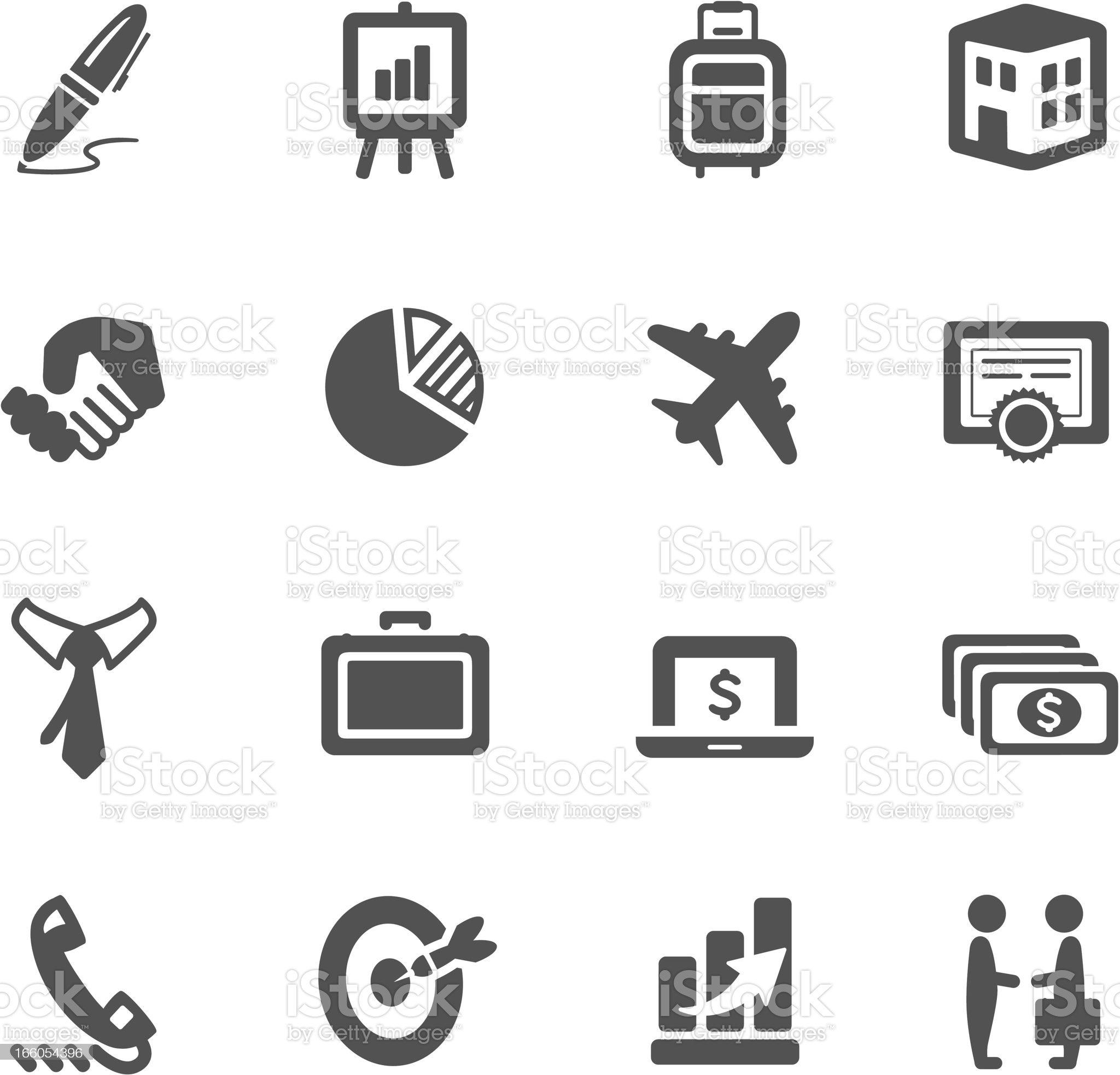 Sales Icons royalty-free stock vector art