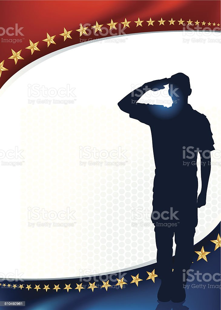 Salute Holiday Background vector art illustration