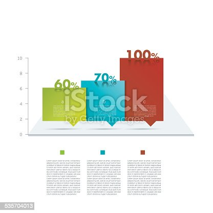 Sample Chart For Infographics Stock Vector Art   Istock