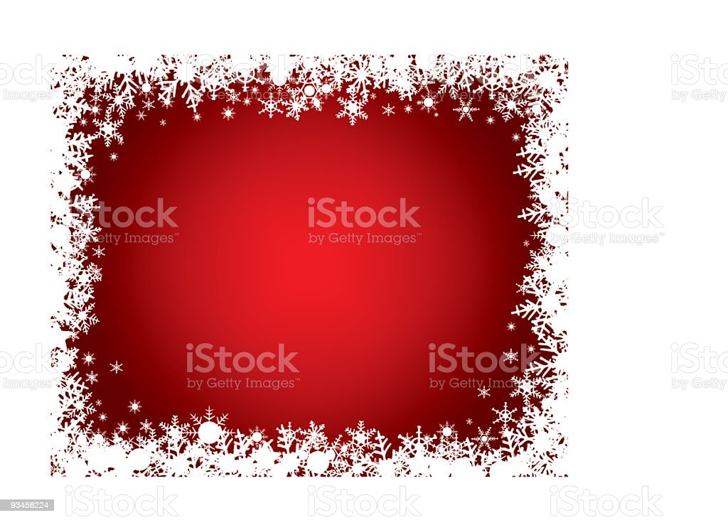 A sample of a holiday background in red vector art illustration