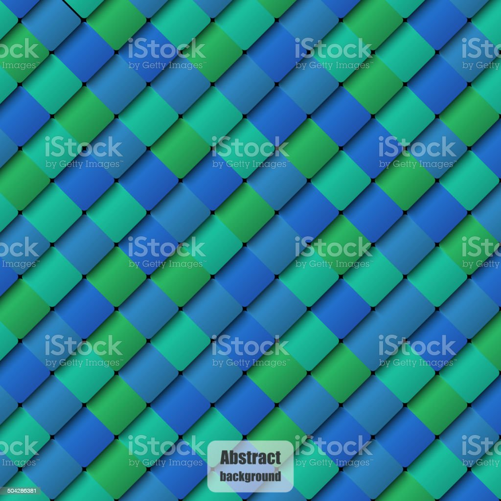 Samples of a ceramic tile in shop royalty-free stock vector art