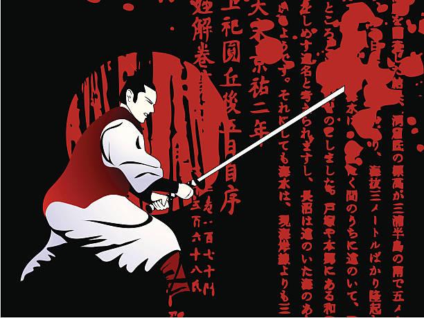 Samurai Clip Art, Vector Images & Illustrations - iStock