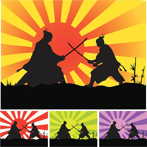 Samurai Clip Art, Vector Images & Illustrations - iStock