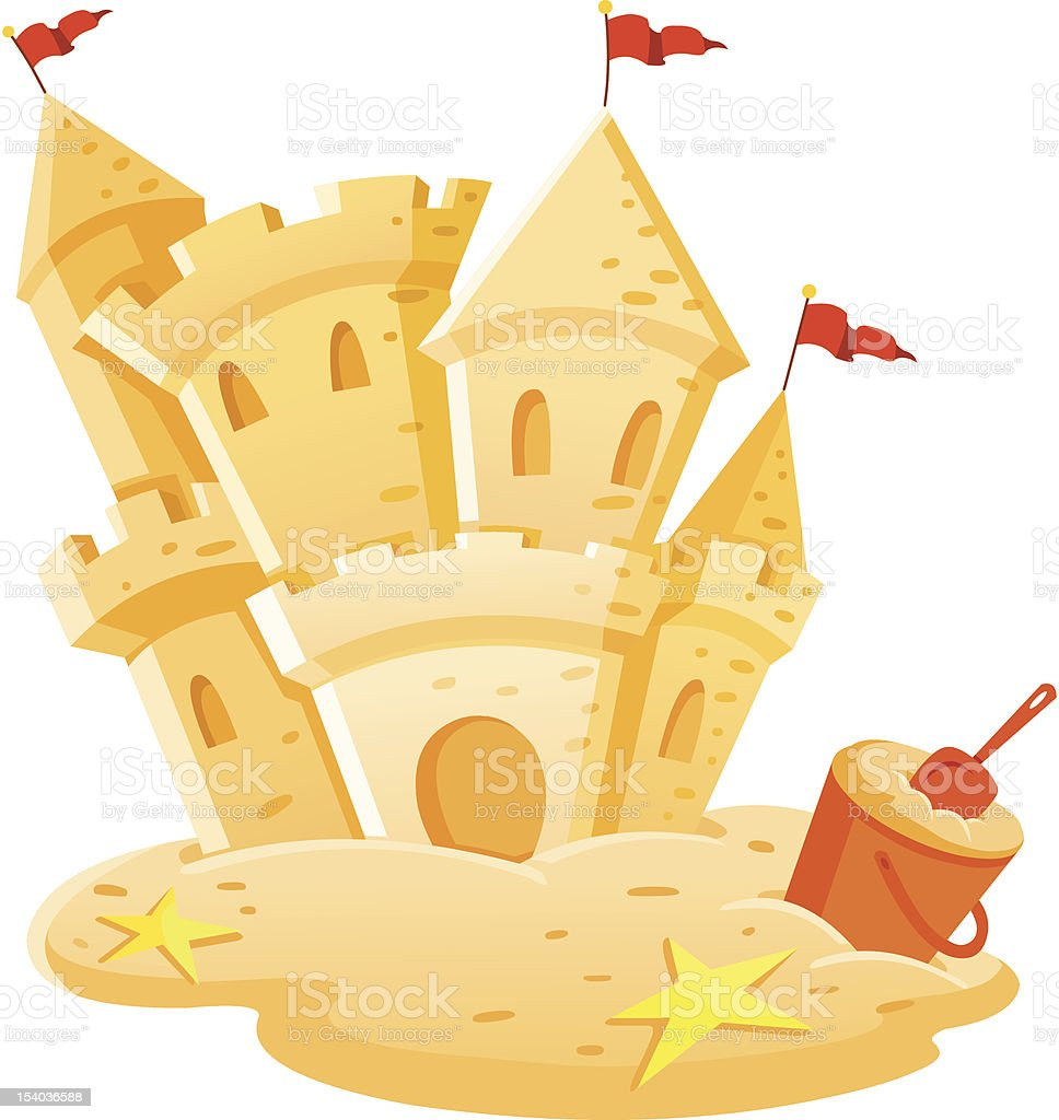 sandcastle clip art  vector images   illustrations istock sand castle clip art images sand castle clip art free sketch