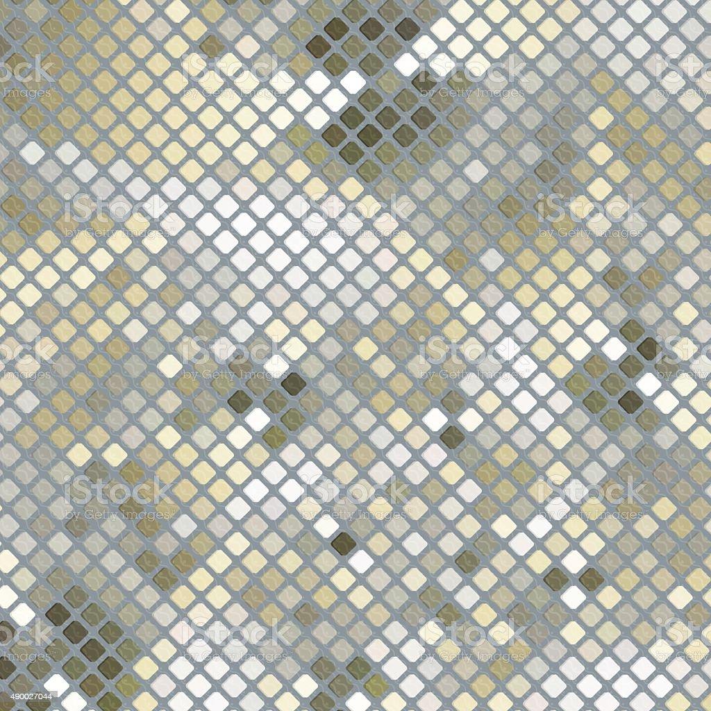 Sand Mosaic Background vector art illustration