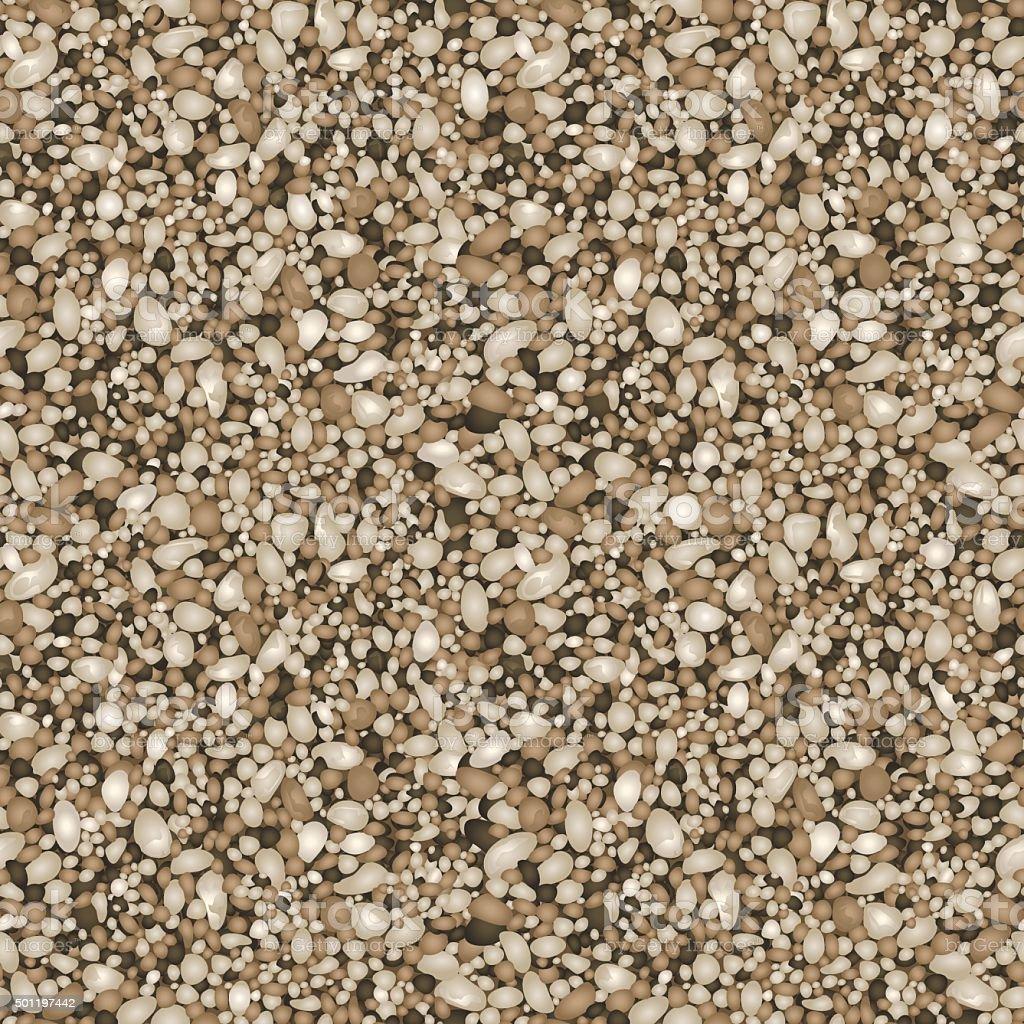 Sand texture pattern vector art illustration