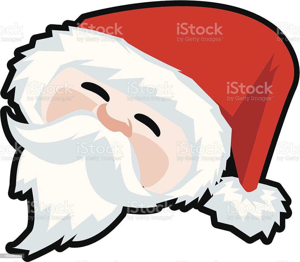 Santa - Christmas Design Element royalty-free stock vector art