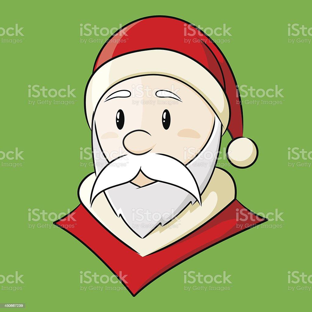 Santa Claus Cahracter royalty-free stock vector art