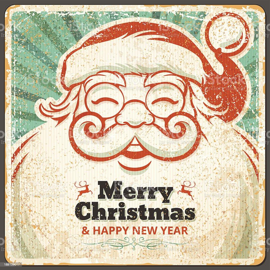 Santa Claus vector art illustration
