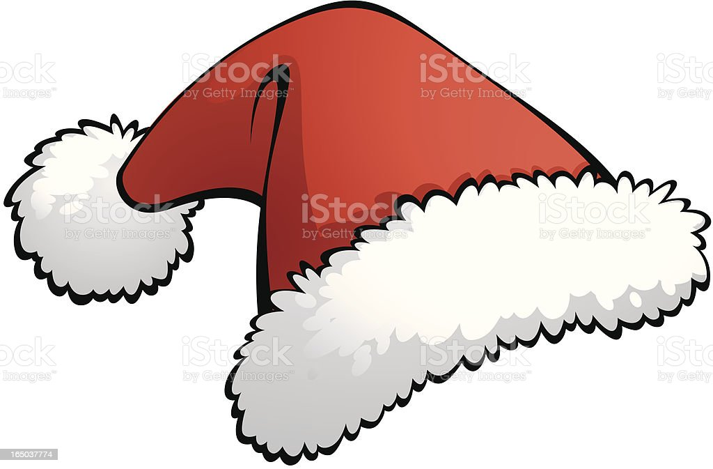 Santa Hat royalty-free stock vector art