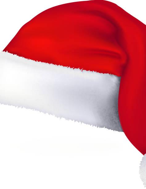 Santa hat clip art vector images illustrations istock