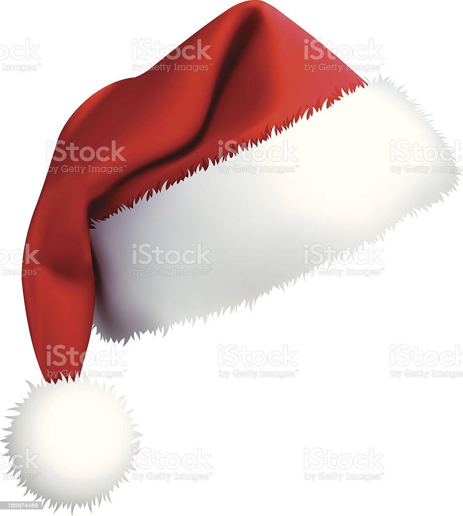 Santa Hat (vector + XXXL jpg) royalty-free stock vector art