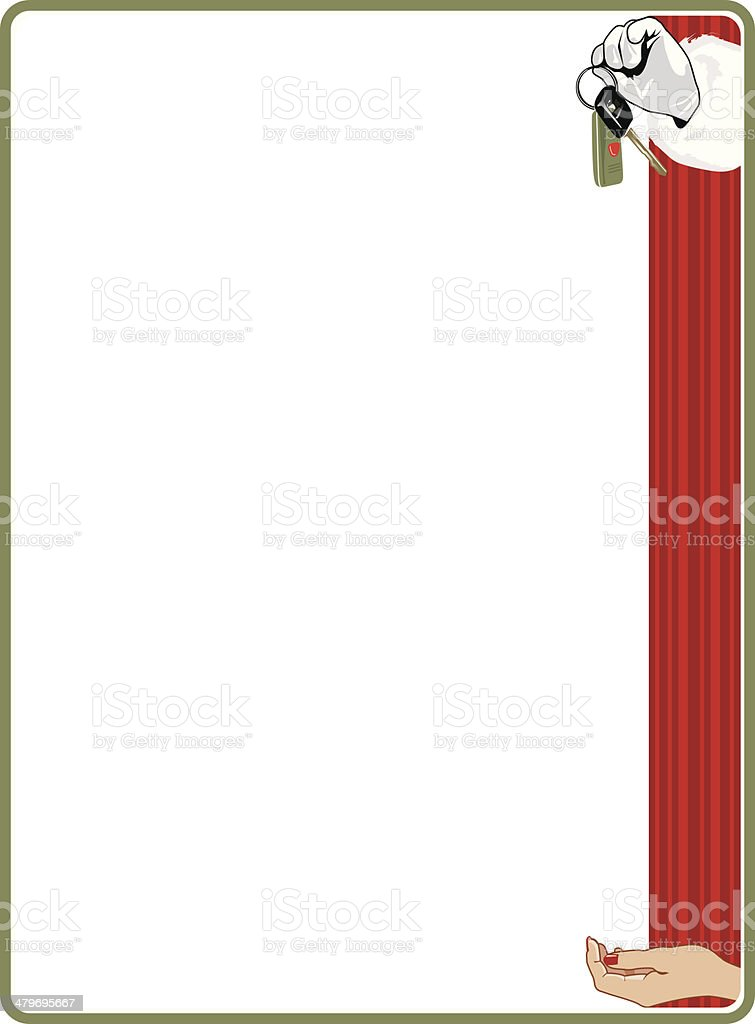 clipart santa keys