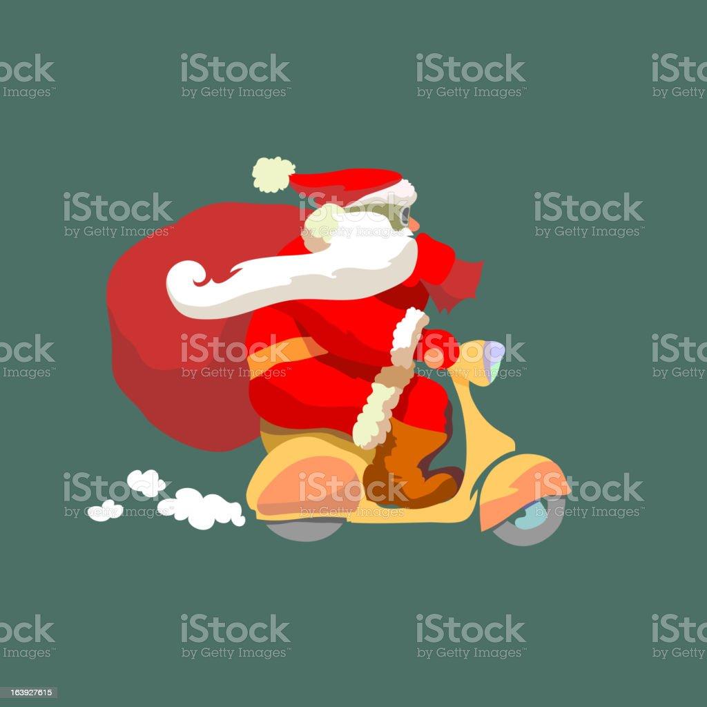 Santa Klaus royalty-free stock vector art