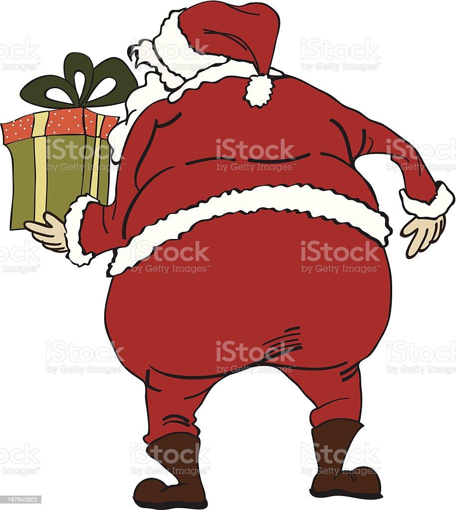 Santa royalty-free stock vector art