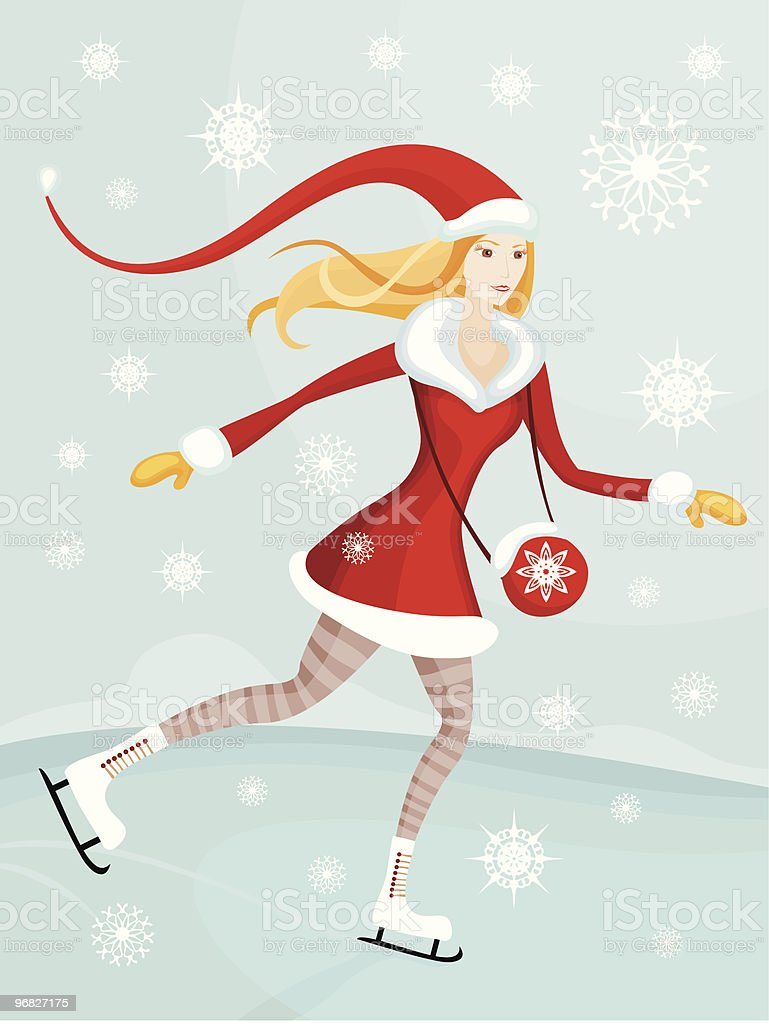 santa royalty-free stock vector art