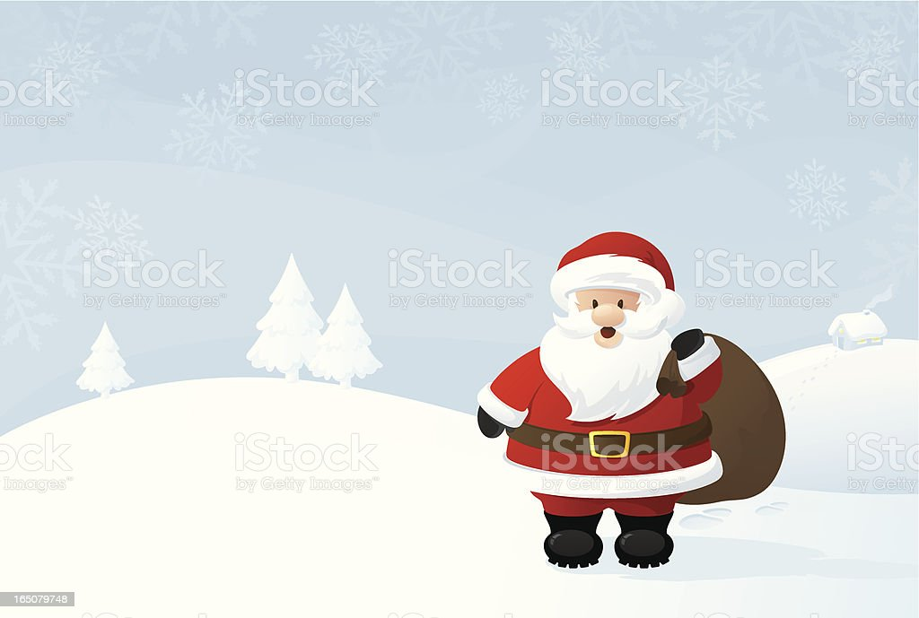 Santa's Deliveries - incl. jpeg royalty-free stock vector art
