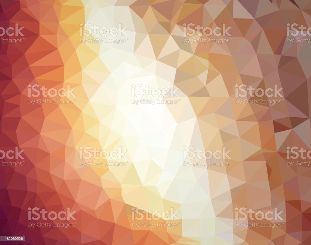 sapphire triangle pattern wallpaper background vector art illustration