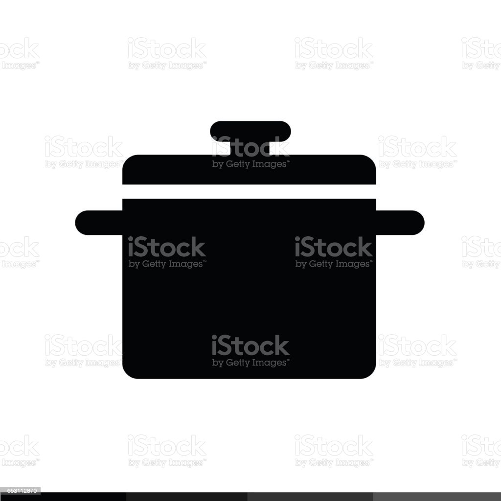 Saucepan Icon, Kitchen Pan Icon Illustration Design Vetor E Ilustração  Royalty Free Royalty  Part 82