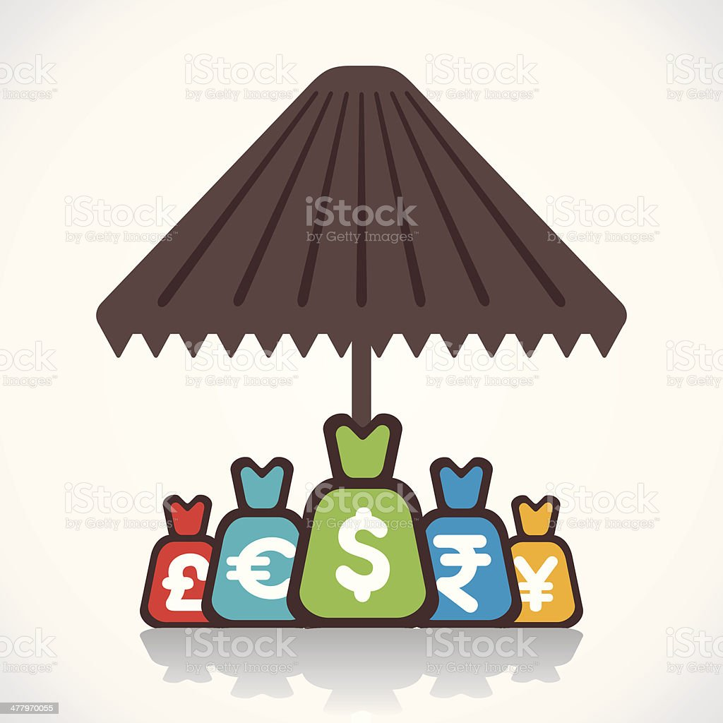 save money concept royalty-free stock vector art