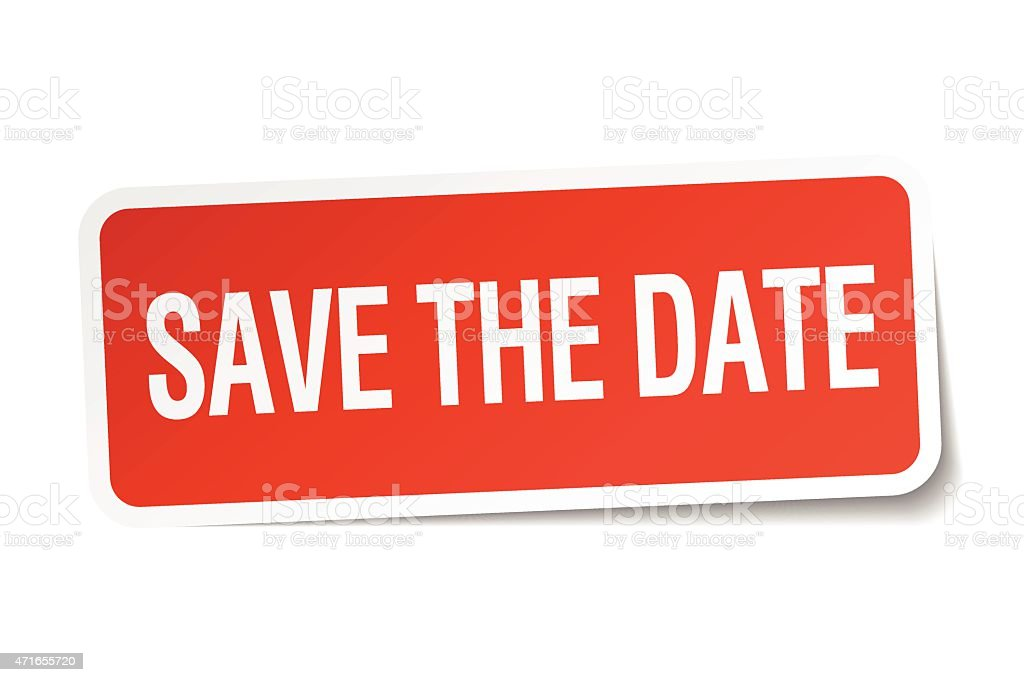 save the date black and white clipart clipartix