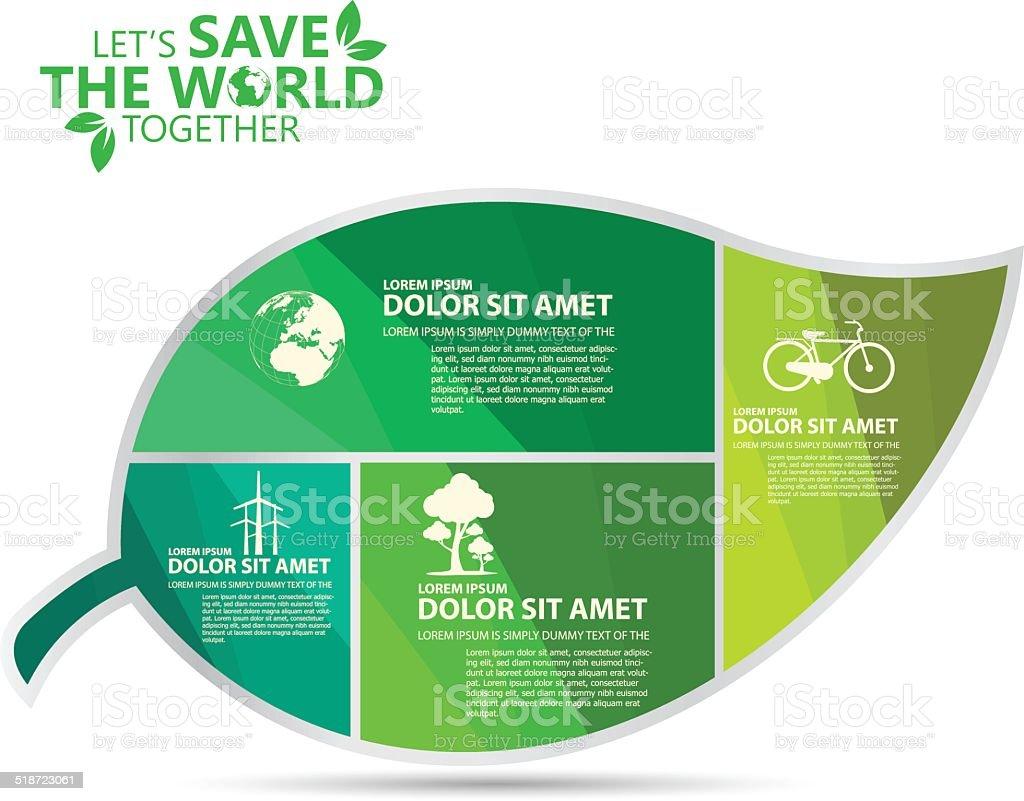 save the world vector art illustration