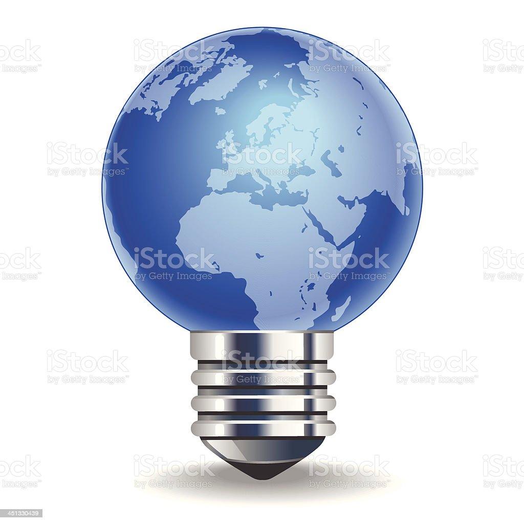 Saving energy royalty-free stock vector art