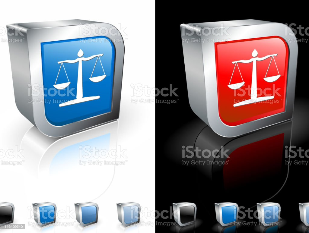 scale of justice square royalty free vector art royalty-free stock vector art