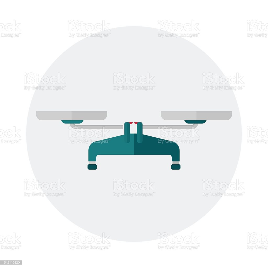 scales for market vector art illustration