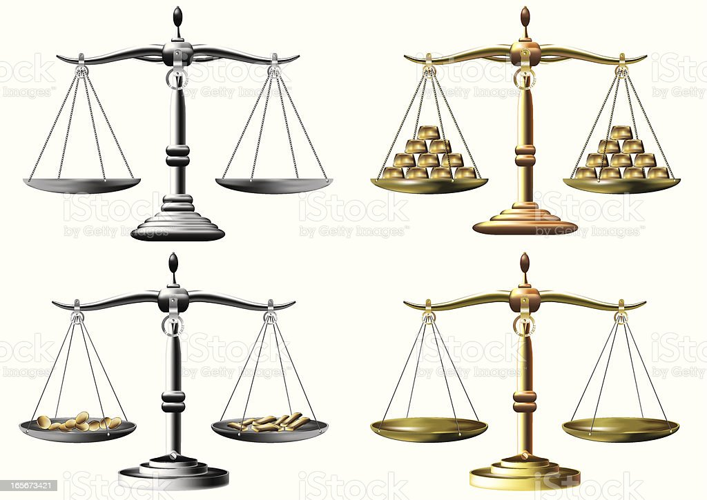 Scales royalty-free stock vector art