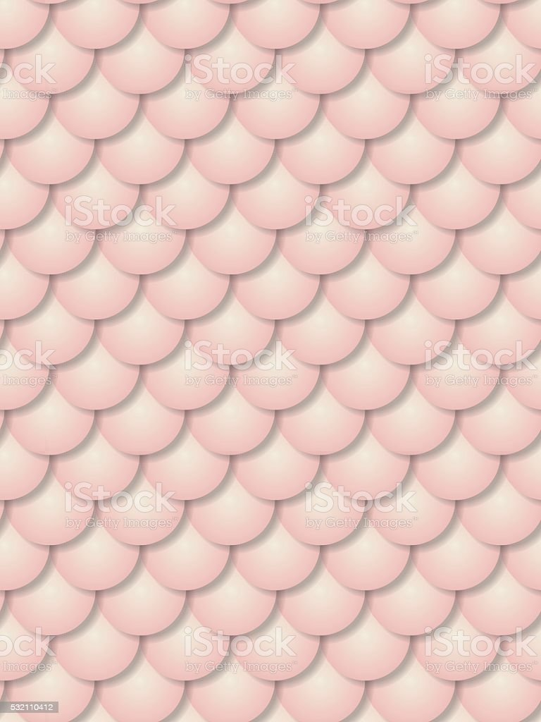 Scales (Seamless pattern) vector art illustration