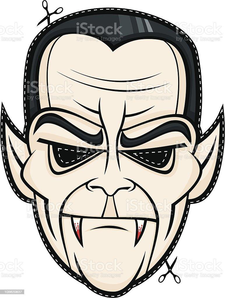 Сделать маску вампира своими руками