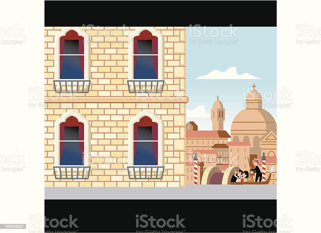 Scene #5 Venice royalty-free stock vector art