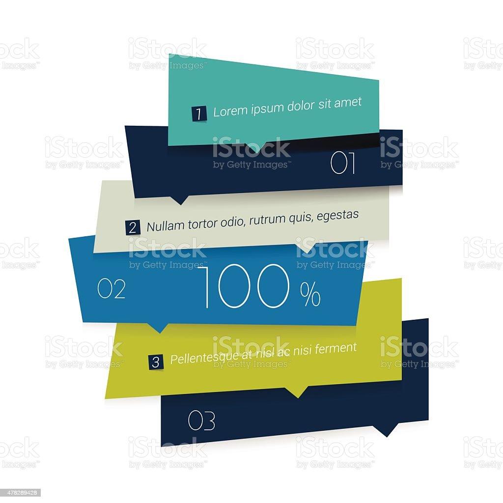 Schedule, tab, banner. Minimalistic vector design infographic. vector art illustration