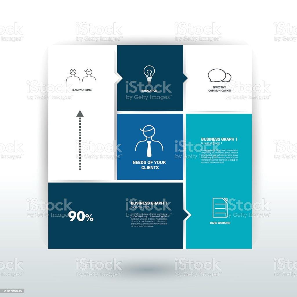 Schedule Tab Banner Minimalistic Vector Design Infographic stock ...