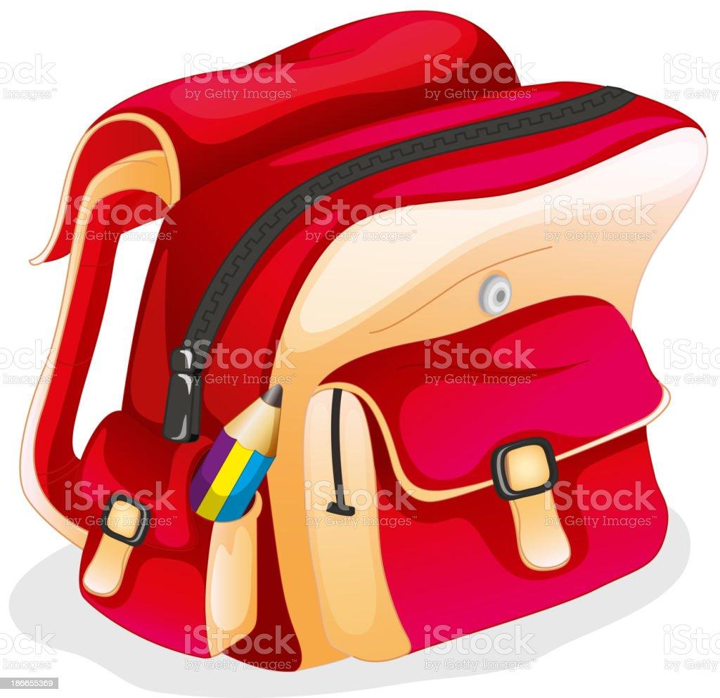 school bag royalty-free stock vector art
