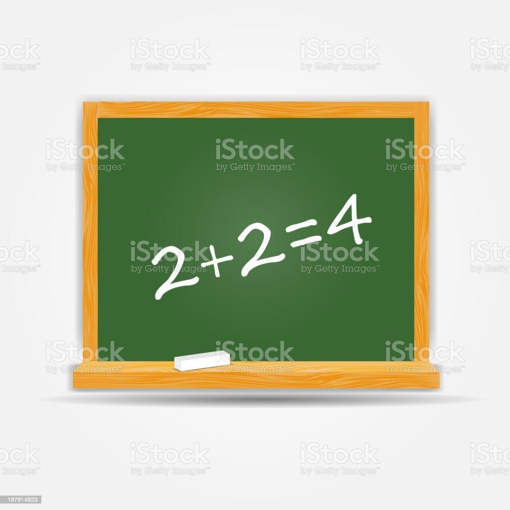 school board icon vector illustration royalty-free stock vector art