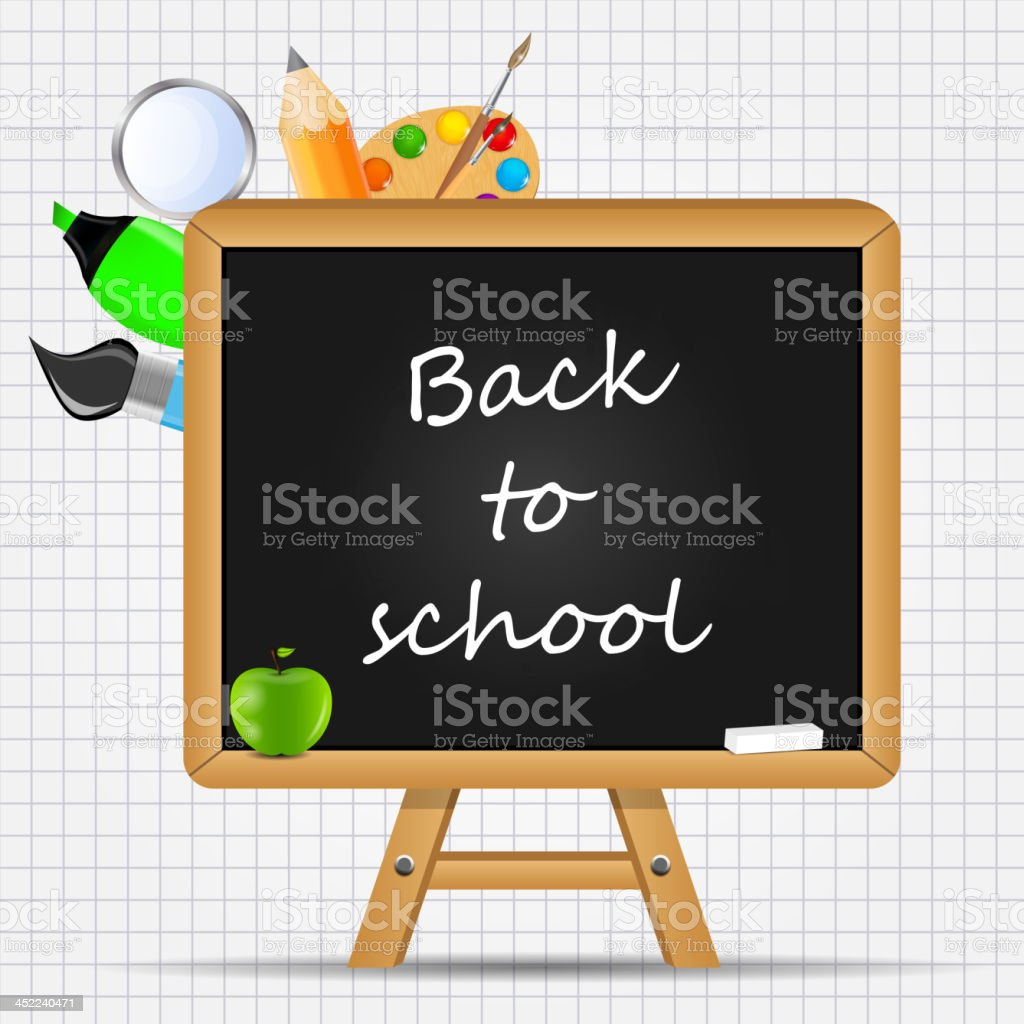 school board icon vector illustration royalty-free stock vector art