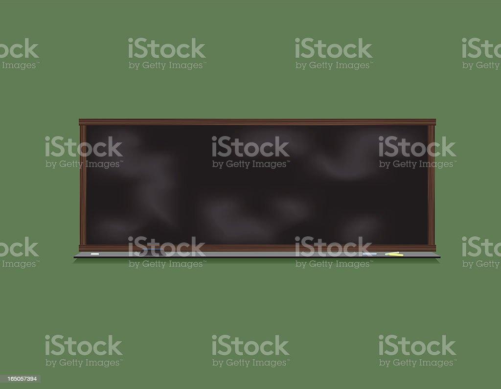 School Chalk Board royalty-free stock vector art
