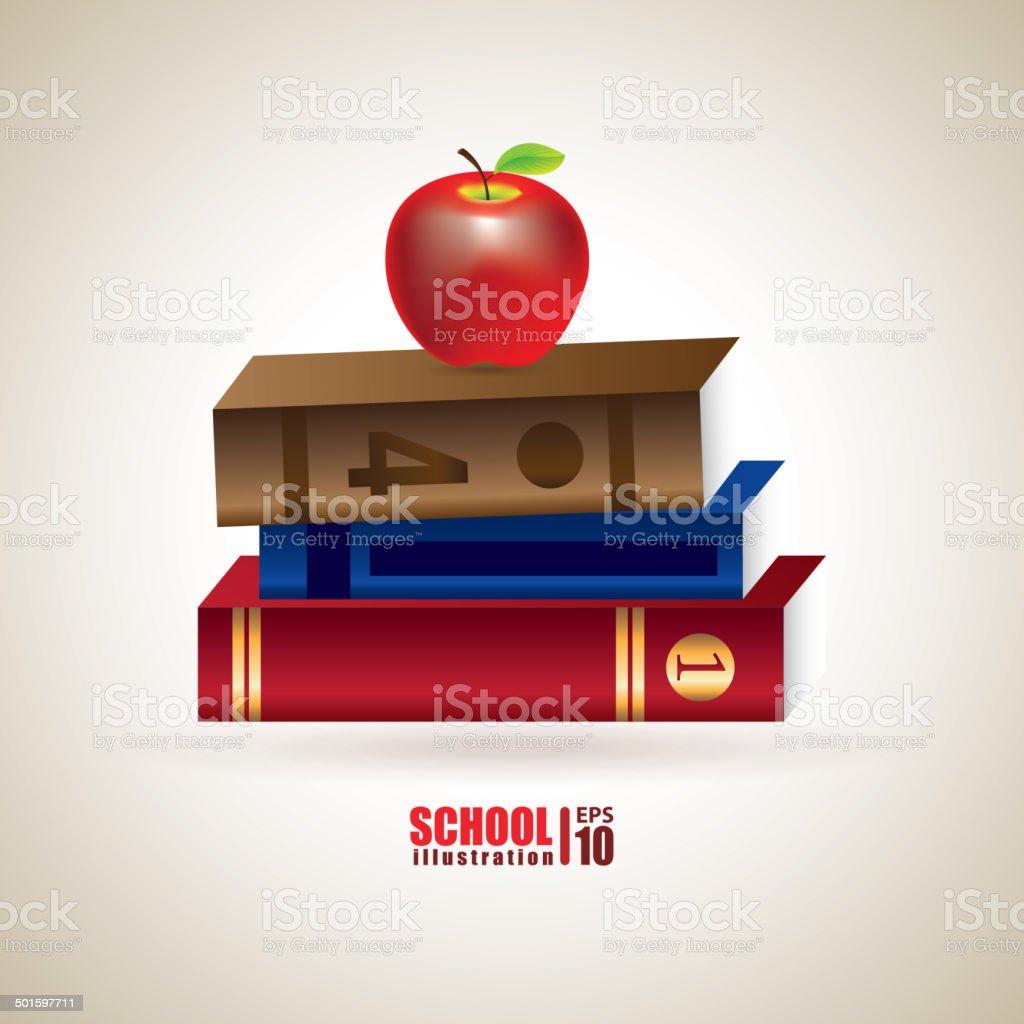 School design royalty-free stock vector art
