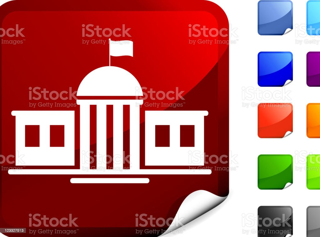 school government building internet royalty free vector art royalty-free stock vector art