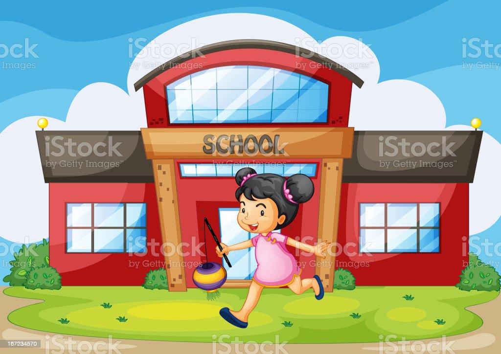 School royalty-free stock vector art