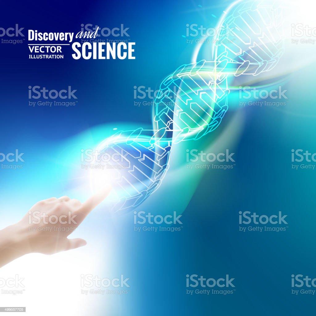 Science concept. vector art illustration