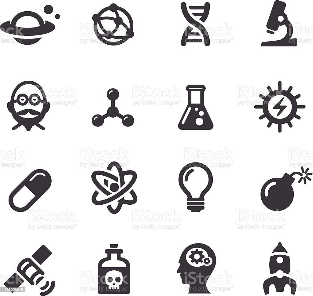 Science Icons - Acme Series vector art illustration