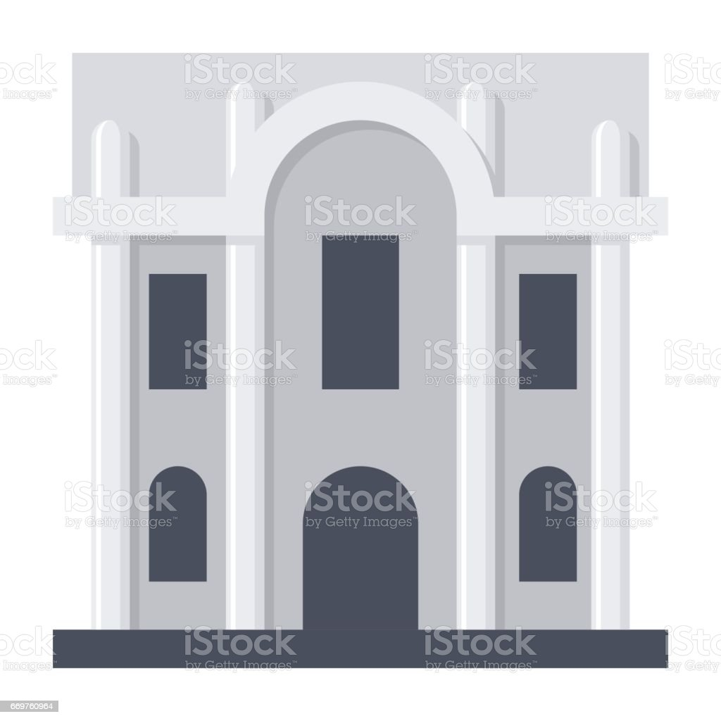 Science Research Institute vector art illustration