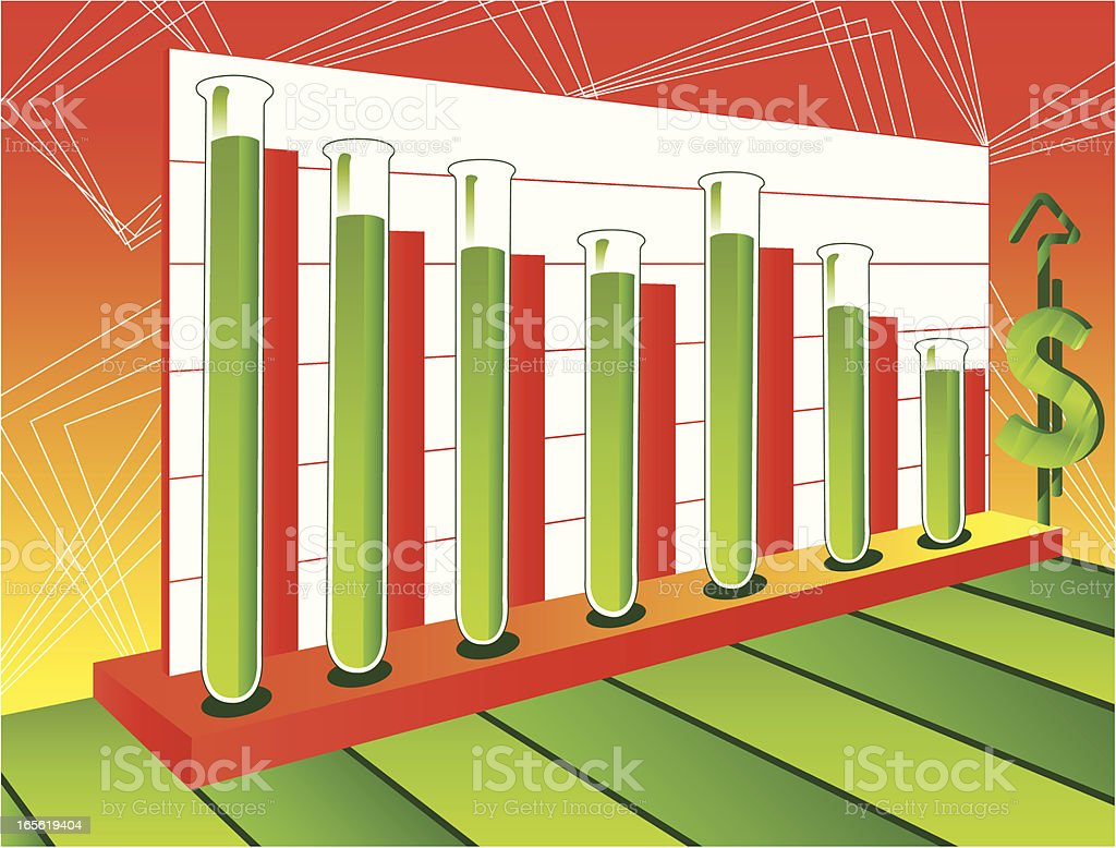 Science Research royalty-free stock vector art