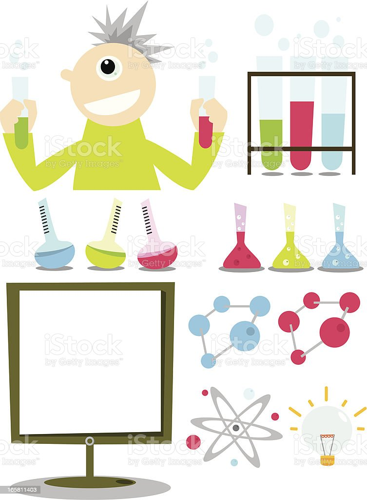 science series royalty-free stock vector art