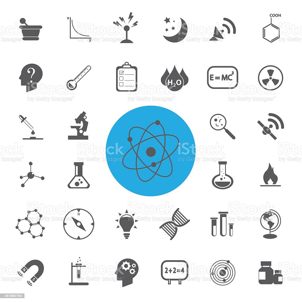Science vector set.Vector/illustration. vector art illustration