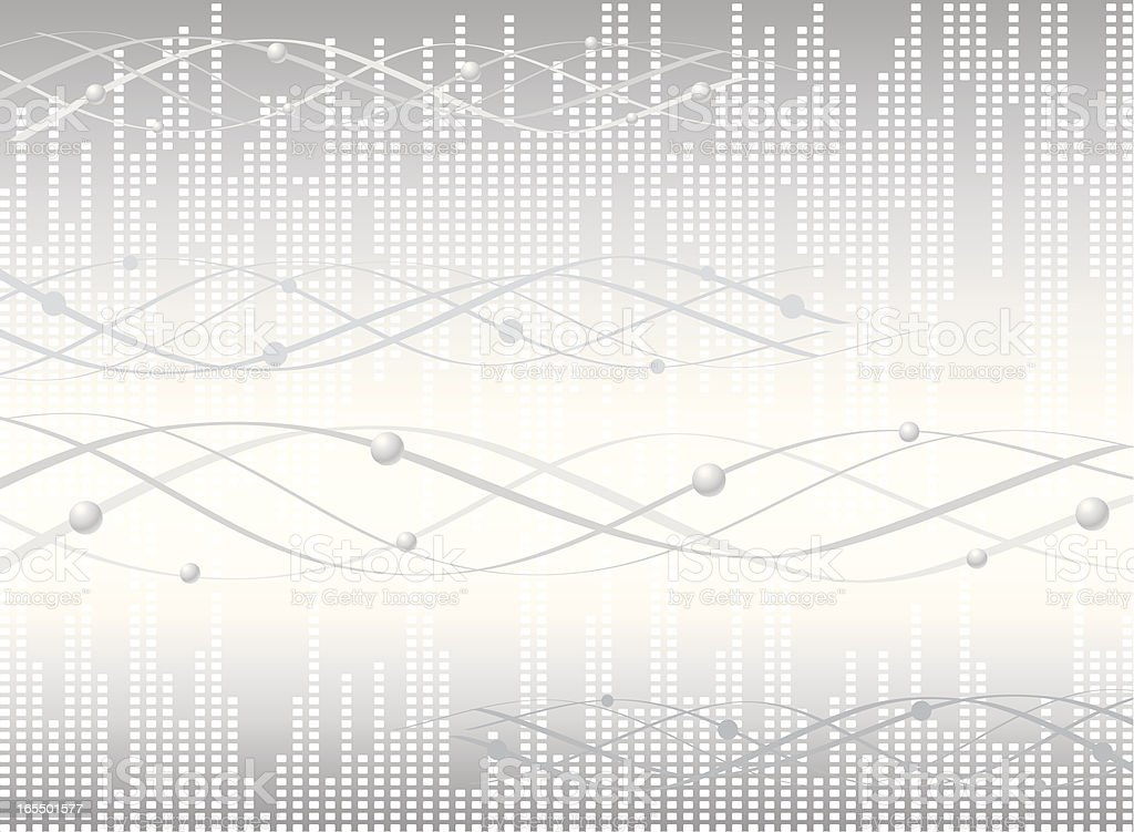 Scientific Molecular Background royalty-free stock vector art