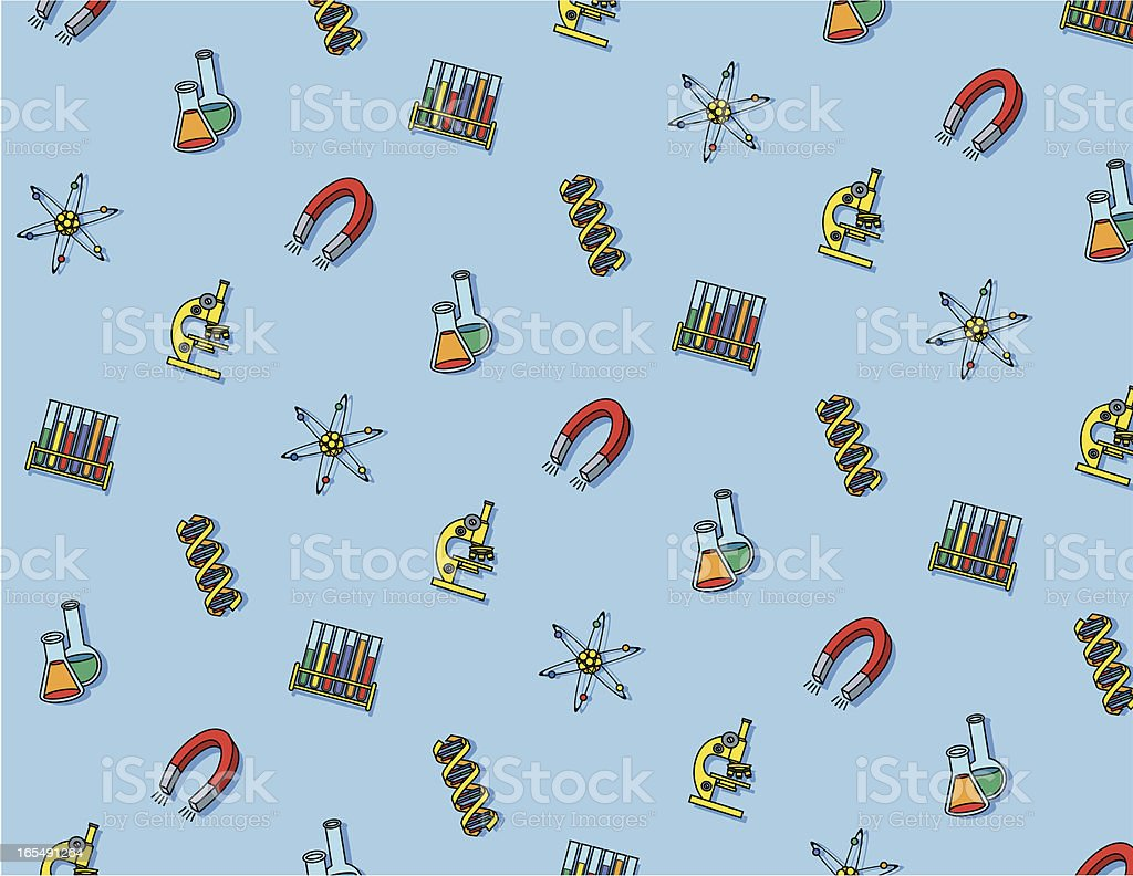 scientific pattern royalty-free stock vector art
